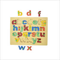 Wooden Small Alphabet Board