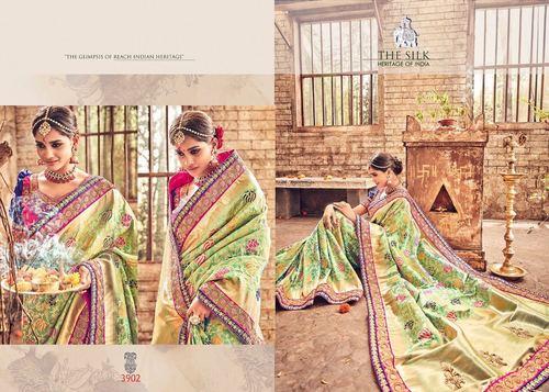 Heavy Bridal Designer Saree