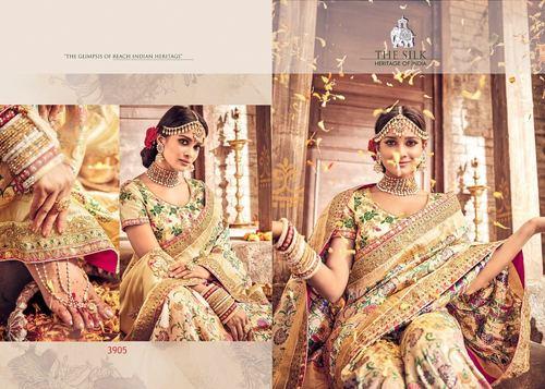 Indian Designer Silk Saree