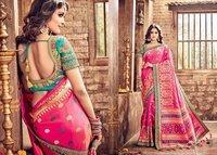 Indian Designer Heavy Silk Saree