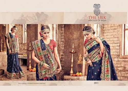 Designer Festival Silk Saree