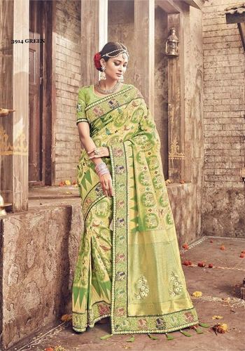 Heavy Bridal Party Wear Saree