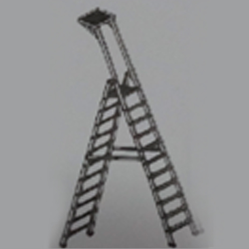 Double Platform Self Supporting Ladder