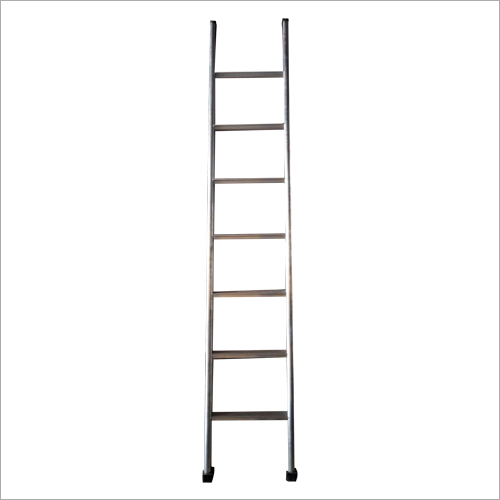 Aluminium Steel Straight Ladder