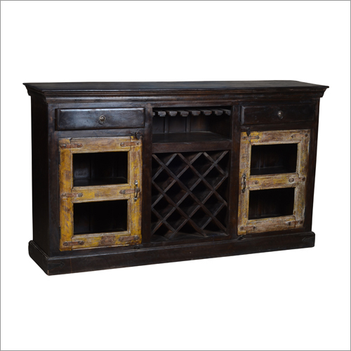 Antique Iron Side Board