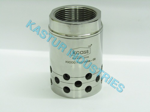 Stainless Steel Foot Valves