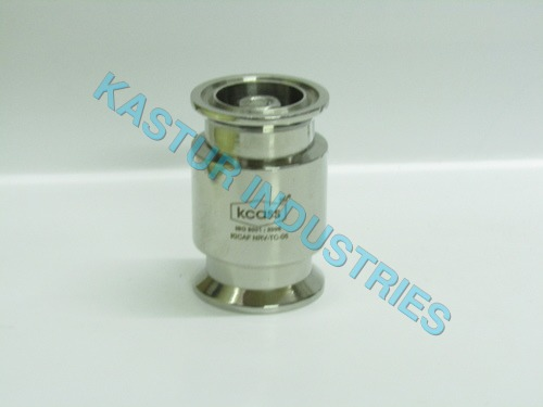 TRICLOVER TYPE STAINLESS STEEL NON RETURN VALVE