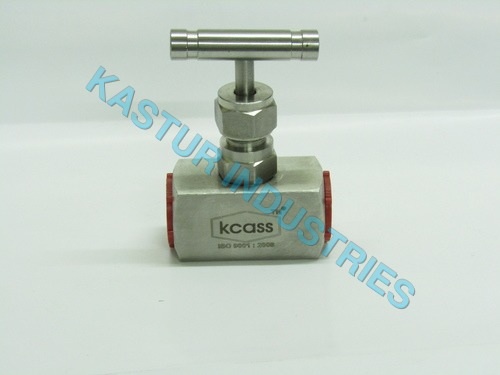 STAINLESS STEEL NEEDLE VALVE SQUARE