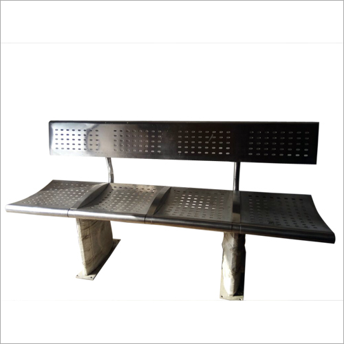 4 Seater Stainless Steel Benches