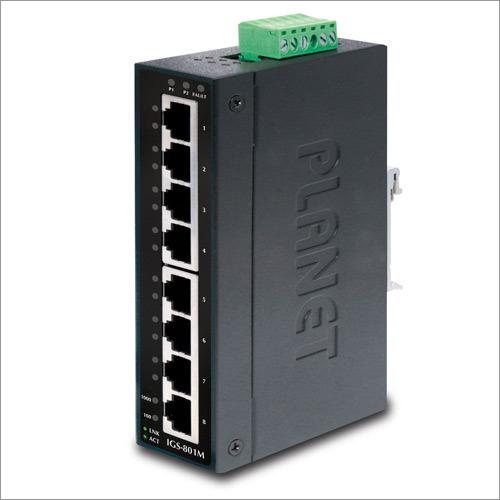 8 Port Industrial Gigabit Ethernet