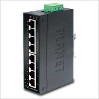 8-Port 10-100Mbps Industrial Fast Ethernet Switch