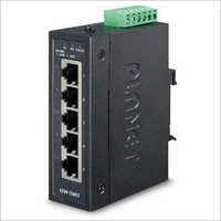 5-Port 10-100TX Compact Industrial Ethernet Switch