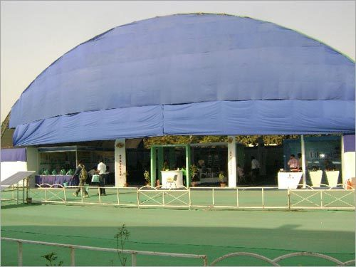 Semi Round Dome Structure