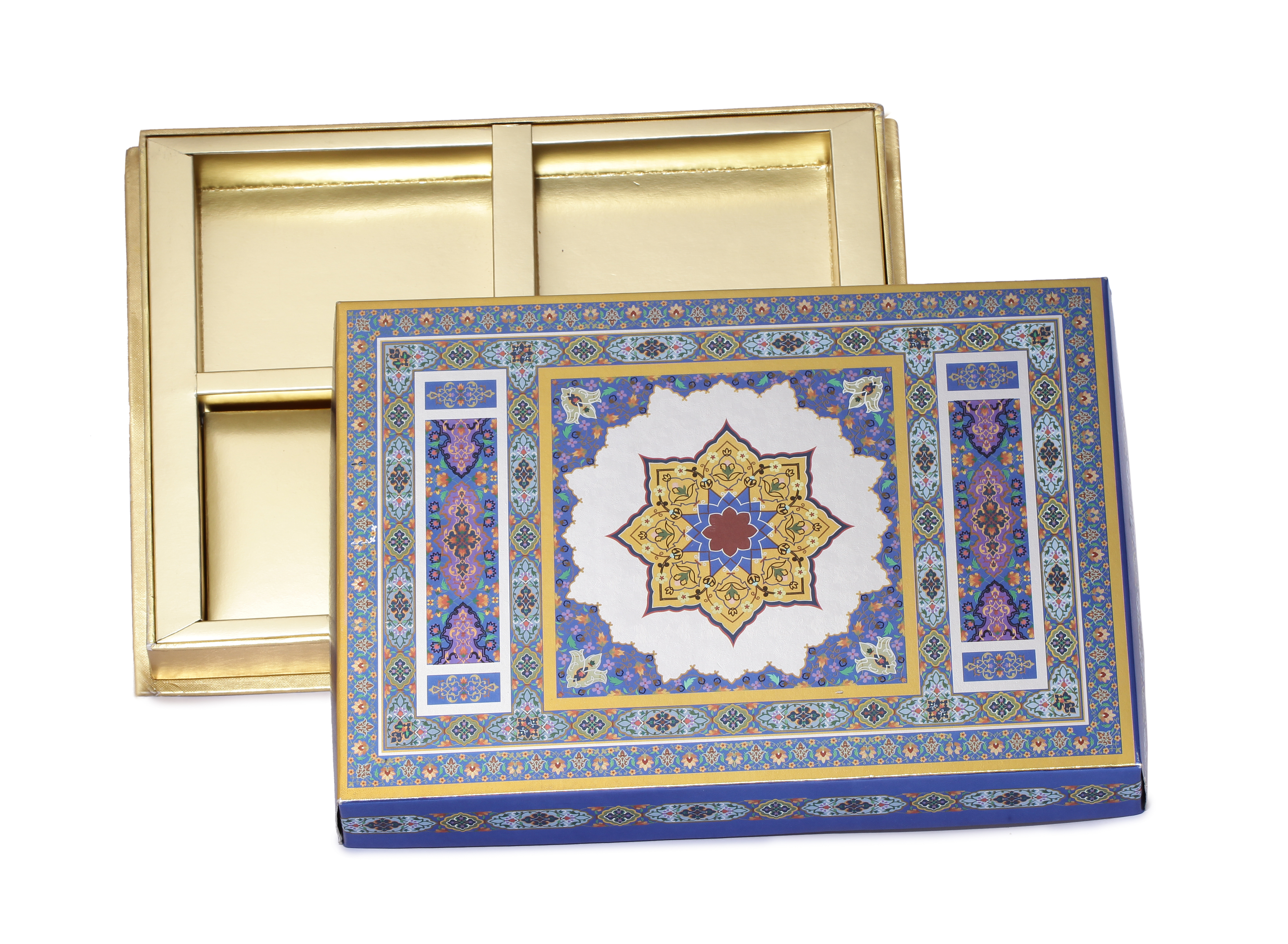 Royal Dry Fruit box 6 part (Covered)