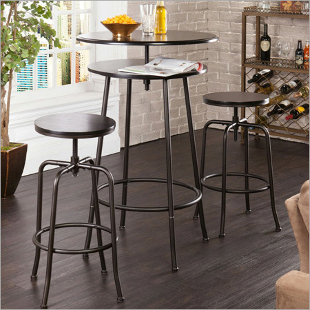 Bar Table Stool Set