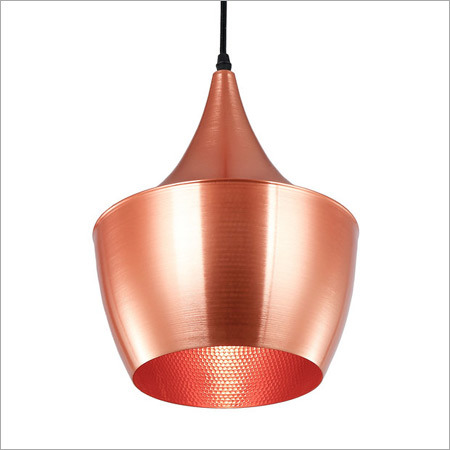 Copper Plated Lamp