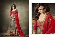 Heavy Georgette Long Anarkali Suit