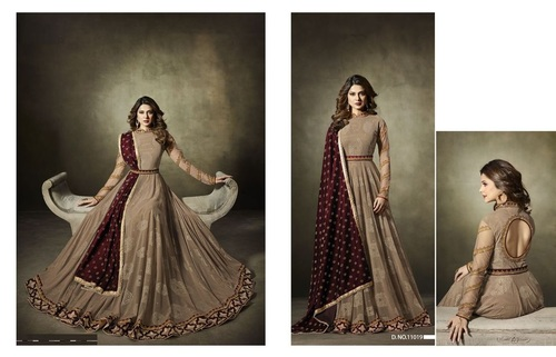 Exclusive Long Anarkali Suit