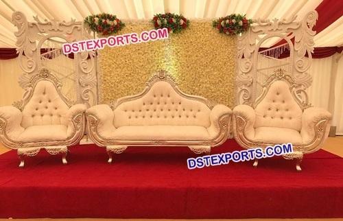 Gorgeous Looking Wedding Sofa Set