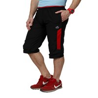 Men's Capri (black&Red)