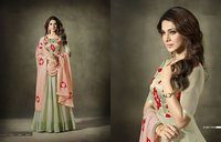 Georgette With Silk Long Anarkali Suit