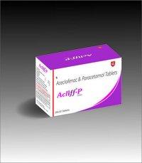 Acliff P Aceclofenac Paracetamol Tablet