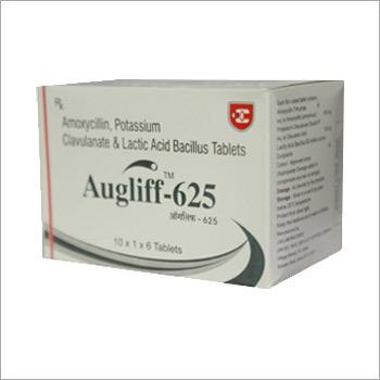 Augliff Amoxycillin Potassium Clavulanate & Lactic Acid Bacillus Tablets