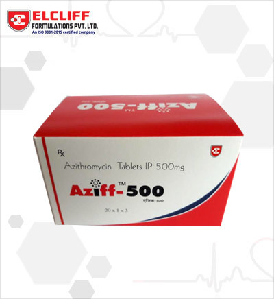 Aziff Azithromycin 500 Mg Tablets