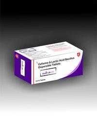 Cefixime Lactic Acid Bacillus Dispersible Tablets