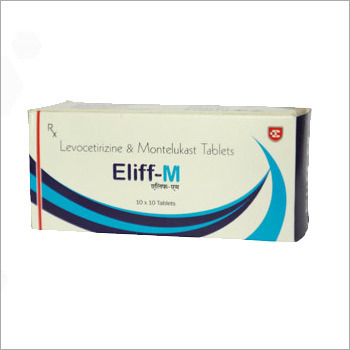 Eliff M Levocetirizine & Montelukast Tablets
