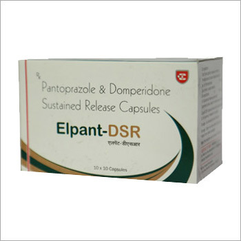 Elpant DSR Pantoprazole Domperidone Sustained Release Capsules