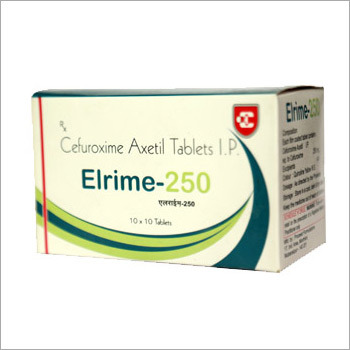 Elrime 250 Cefuroxime Axetil Tablets IP