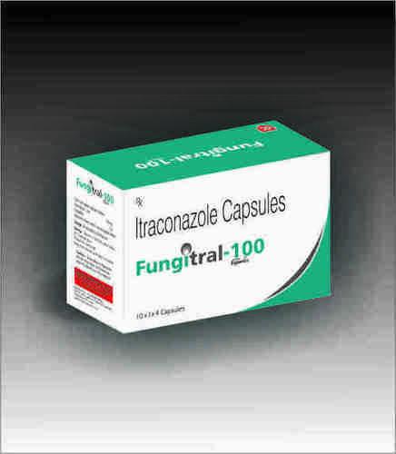 Fungitral 100 Itraconazole Capsules