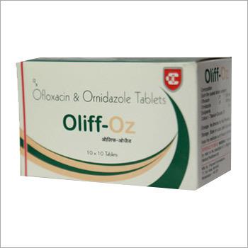 Oliff Oz Ofloxacin & Ornidazole Tablets