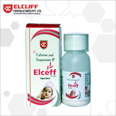 Elceff Cefixime Oral Suspension IP