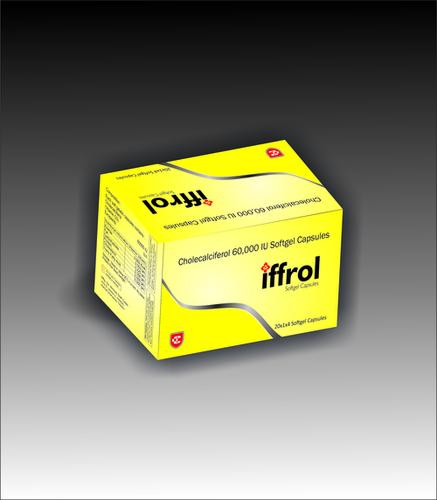 Iffrol Cholecalciferol Softgel Capsules and Sachets