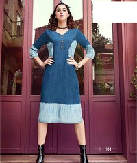sparrow denim kurtis 1128-1133 catalog sethnic