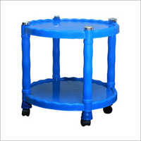 Round Trolley Table