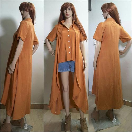 Ladies Long Shrug T Shirt