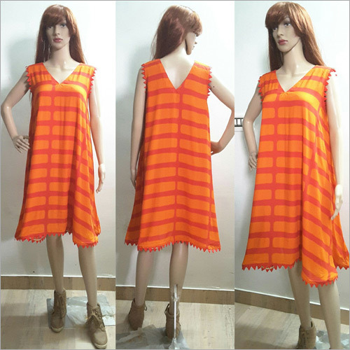 Ladies A Line Dress