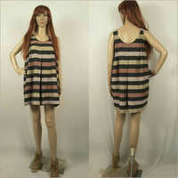 Ladies Box Pleated Dress