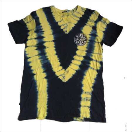 Ladies Casual Tie & Dye Top