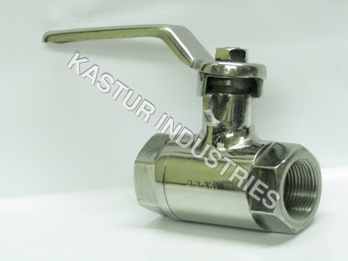 BARSTOCK BONNET TYPE STAINLESS STEEL BALL VALVE