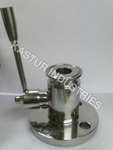 FLUSH BOTTOM STAINLESS STEEL BALL VALVE