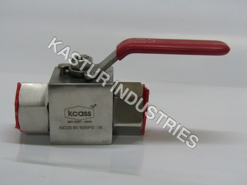 STAINLESS STEEL HIGH PRESSURE BALL VALVE