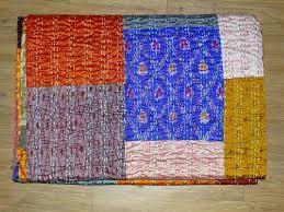 Kantha Patola Bed Sheet