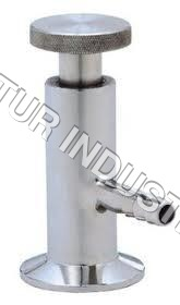 STAINLESS STEEL SAMPLING VALVE TC END