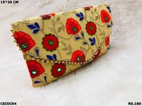 Embroide Clutch