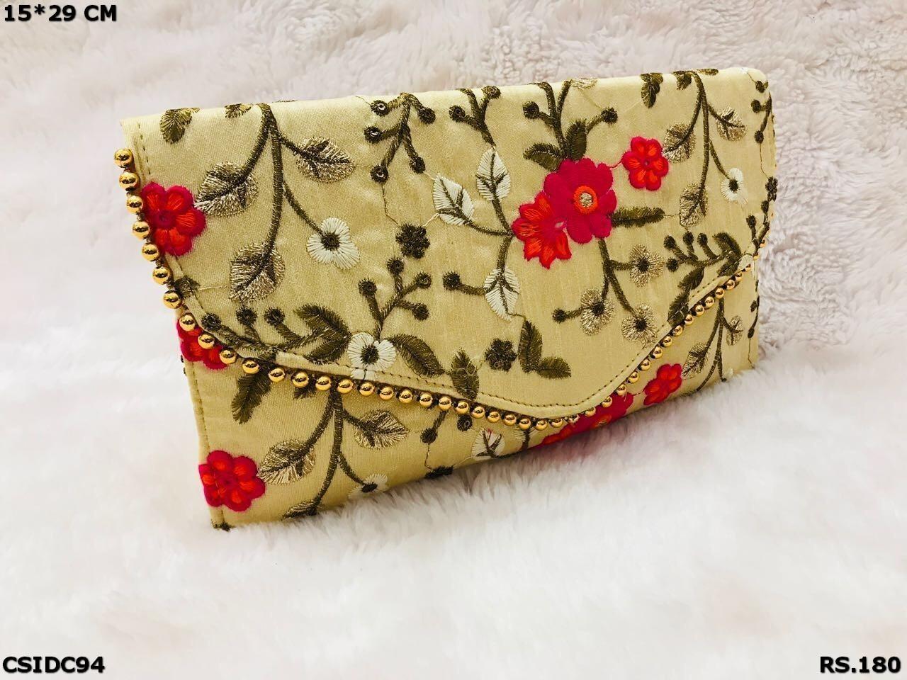 Embroide Clutch