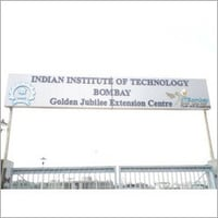 Iit Colour Coated SS Letters